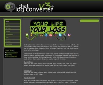 [Chat Log Converter+]